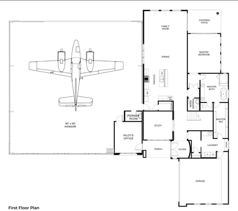 Hangar Homes Condor-Floorplan