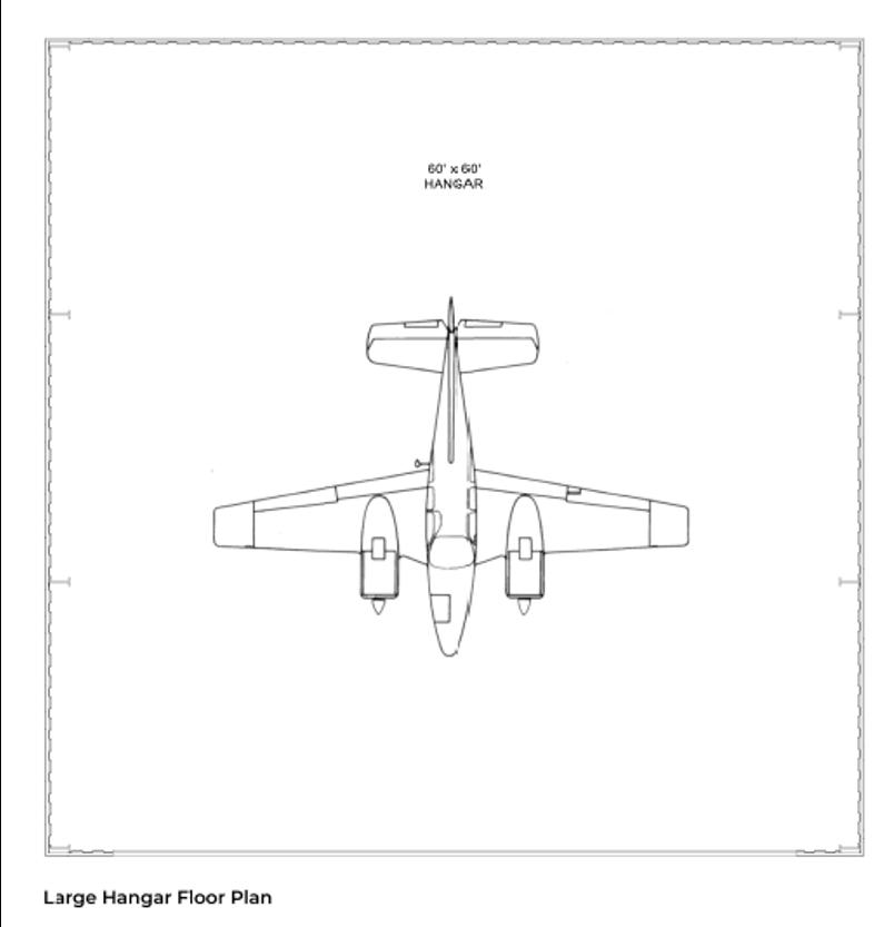 Hangar Homes Kestrel-Floorplan