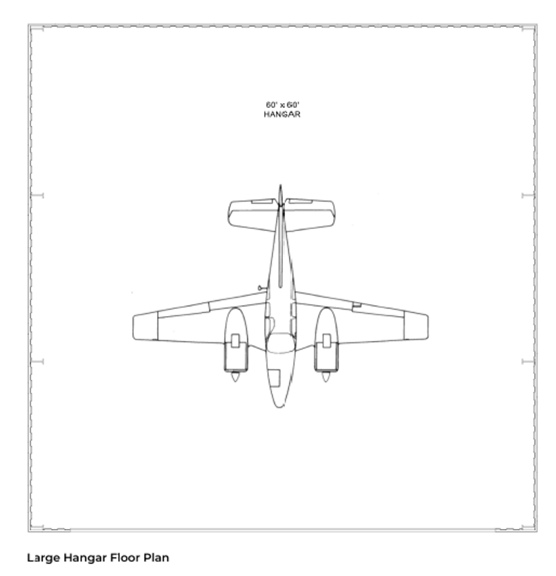 Hangar Homes Kestrel-Floorplan